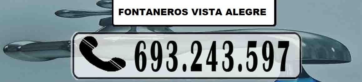 Fontaneros Vista Alegre Madrid Urgentes