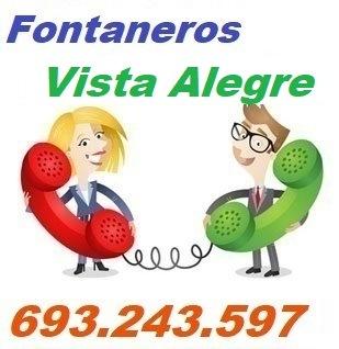 Telefono de la empresa fontaneros Vista Alegre